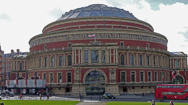 אולם הופעות מהידועים והגדולים בעולם. Royal Albert Hall