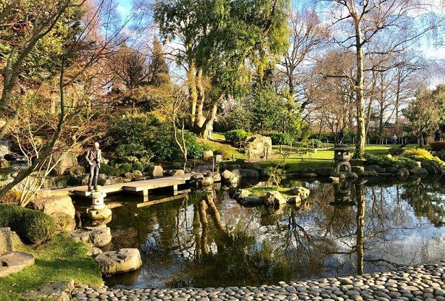 הגן היפני (גן קיוטו) בהולנד פארק