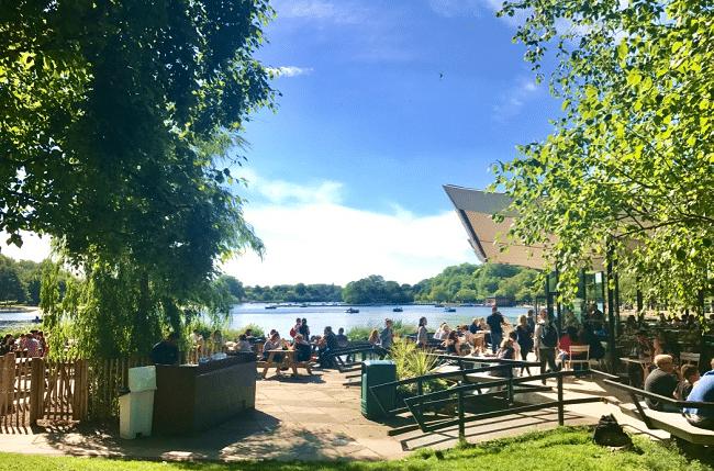 הייד פארק בקיץ. פסטיבלים וקוקטיילים על האגם