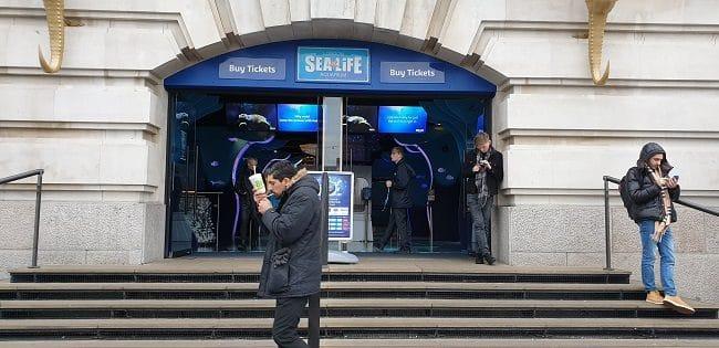 חזית Sea life לונדון
