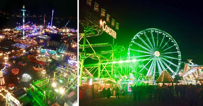 פסטיבל ועיר שעשועים עצומה שפתוחה כל החורף. Winter Wonderland