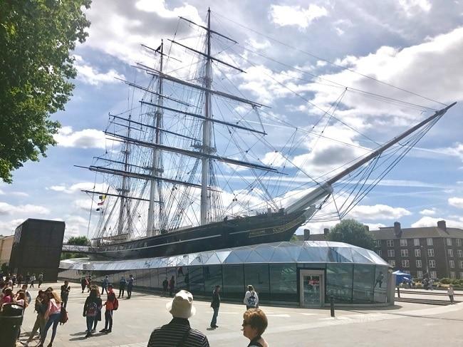 פעם הספינה הארוכה והמהירה בעולם, וכיום מוזיאון. קאתי סארק בגריניץ׳