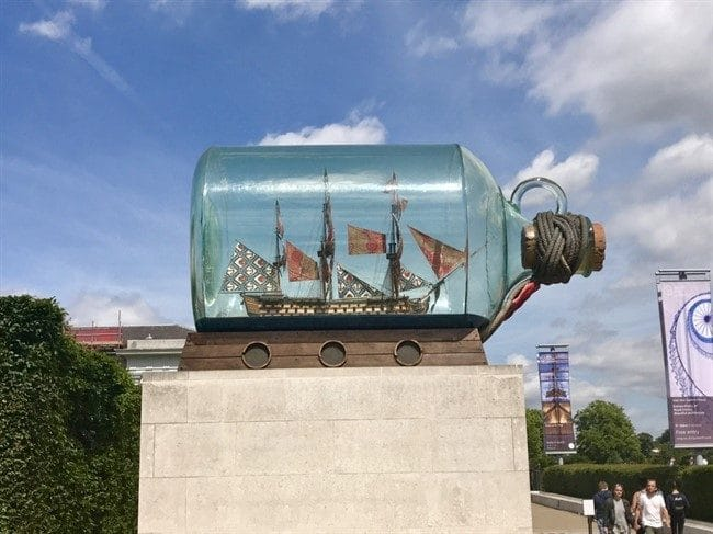 היסטוריה מפוארת של ספינות ומסעות. המוזיאון הימי של גריניץ׳