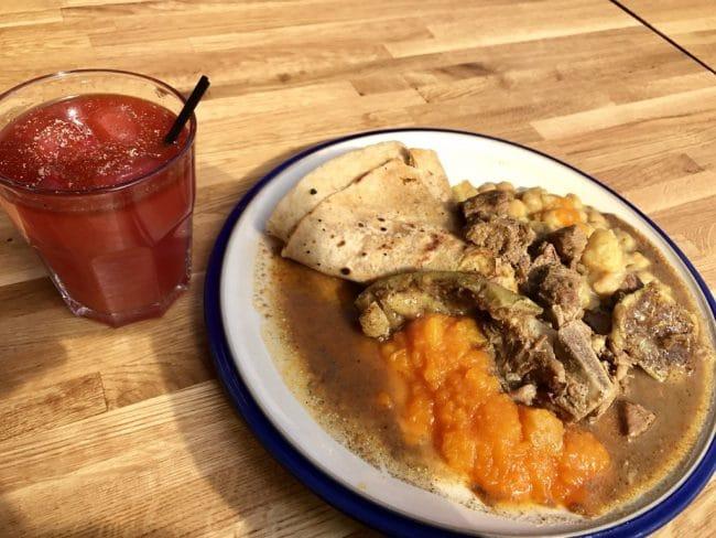 תבשיל רוטי טרינידדי - כי אם כבר הגעתם לבריקסטון, מומלץ לדגום אוכל קריבי