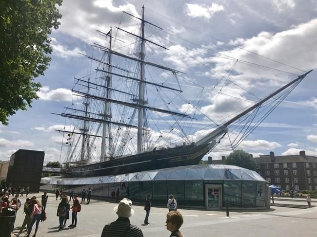 ספינת המפרש המהירה ביותר בעולם במאה ה-19. Cutty Sark