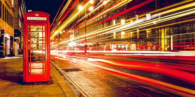 תא טלפון בלונדון