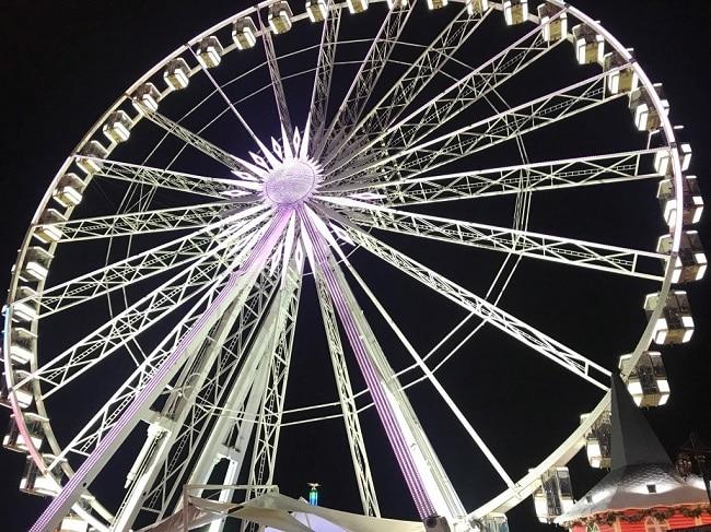 מומלץ. הגלגל הענק ב-Winter Wonderland
