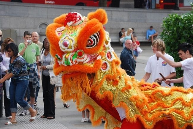 חגיגות השנה הסינית החדשה בלונדון