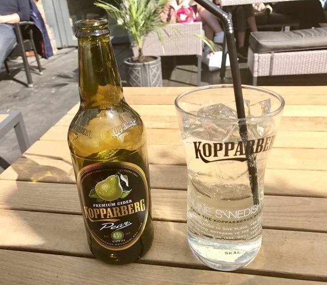 סיידר אגסים שוודי – Kopparberg