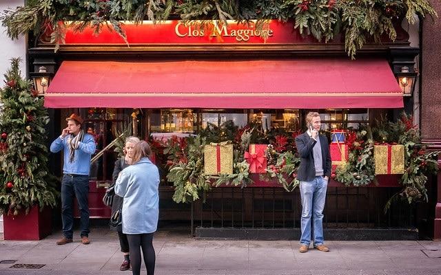 מסעדת Clos Maggiore לונדון