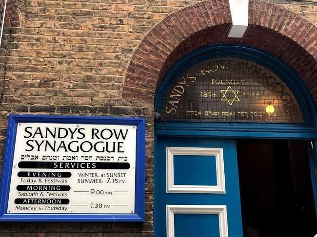בית הכנסת האשכנזי סנדיס רואו בלונדון