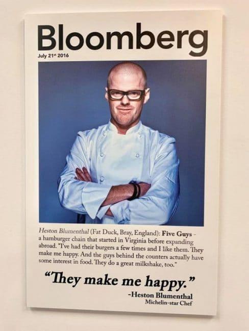 """""""הם משמחים אותי"""": השף הסטון בלומנטל"""