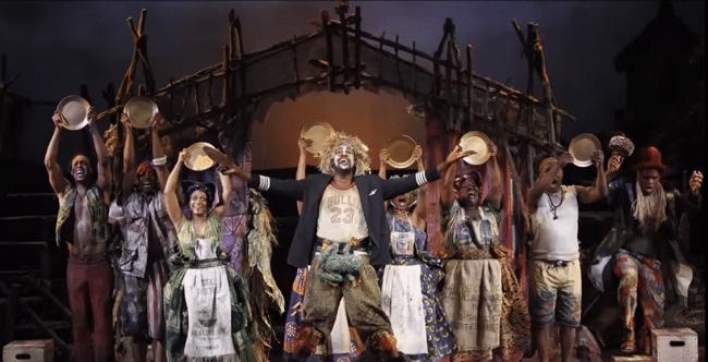 המחזמר בוק אוף מורמון - צילום מסך מתוך הסרטון הרשמי