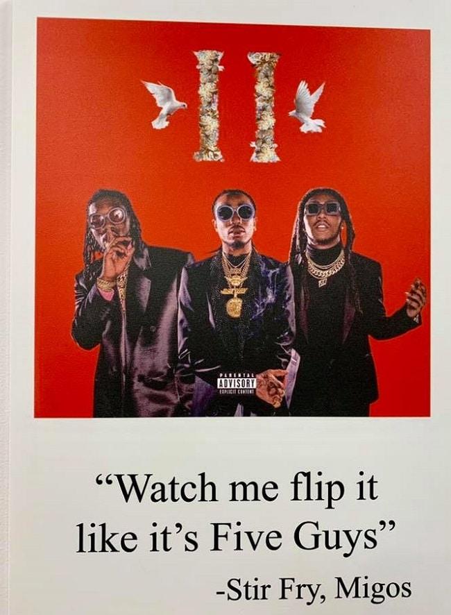 watch me flip it like it's five guys