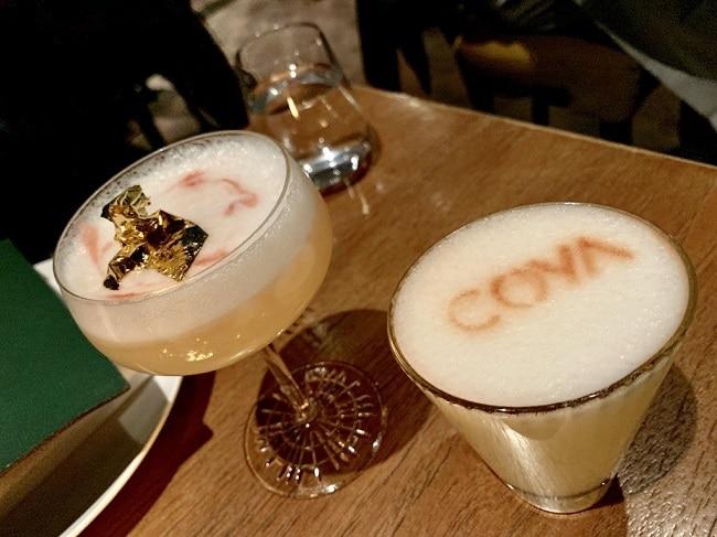 חובה לנסות. קוקטיילים של פיסקו סאוור בוריאציות שונות במסעדת Coya