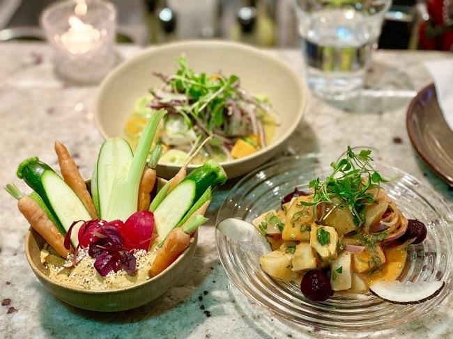 מטבח צבעוני ומהמטבחים המגוונים והמרתקים בעולם. מגוון מנות במסעדת Andina