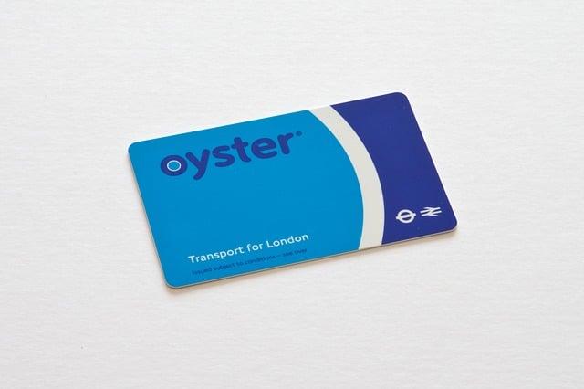 אויסטר - כרטיס הנסיעה בתחבורה ציבורית בלונדון