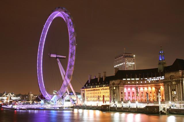 הלונדון איי בלילה
