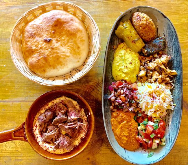 מטעמי המטבח הכורדי ב-Yada's