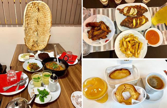 אוכל אפגני בוליביאני קולומביאני וארוחה ניגרית ביתית בלונדון