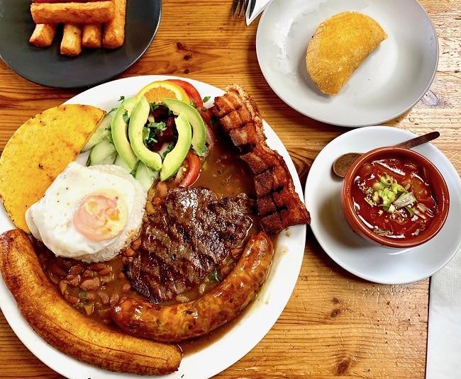 אוכל קולומביאני בבריקסטון 7