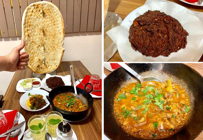 איזו ארוחה. אוכל אפגני נהדר ב-Taste of Afghan בשכונת פקהאם