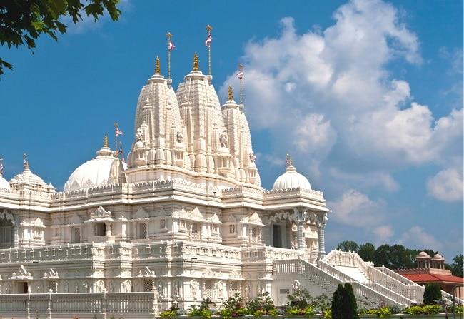 המקדש ההודי ניסדן -Neasden Hindu Temple - BAPS Shri Swaminarayan Mandir