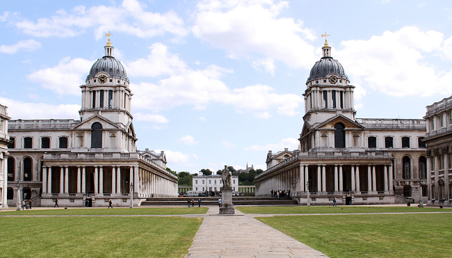 מבנה המכללה הימית המלכותית - Old Royal Naval College