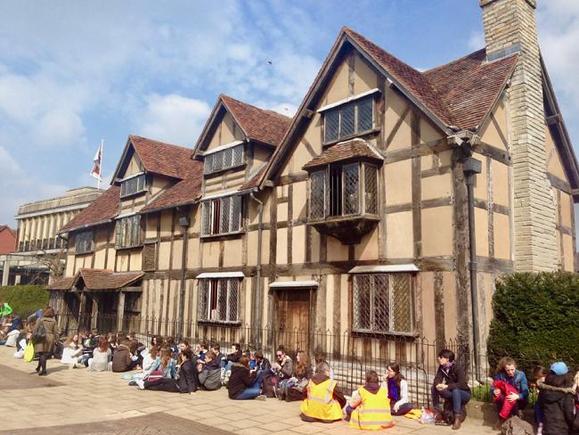 הבית של שייקספיר בסטרטפורד אפון אייבון