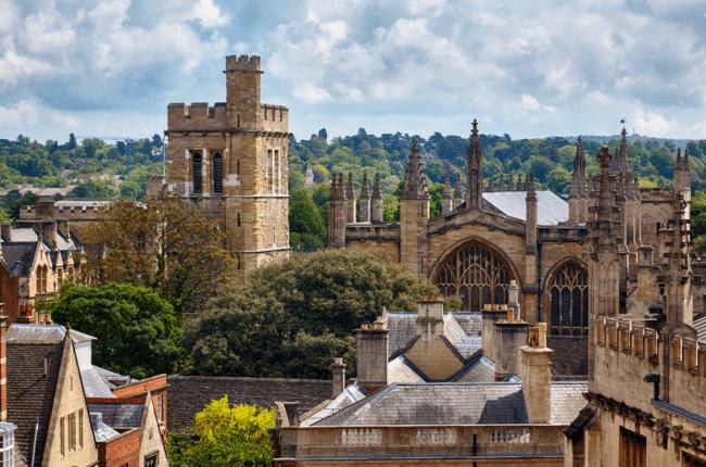 העתיקה בעולם דובר האנגלית. אוניברסיטת אוקספורד