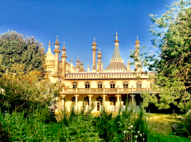 כמה יופי בבניין אחד. ה-Royal Pavilion בברייטון