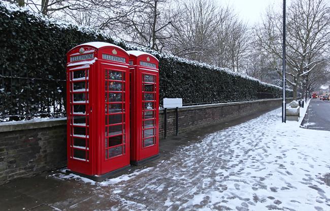 אפשרי, אבל אל תבנו על זה. שלג צנוע בלונדון