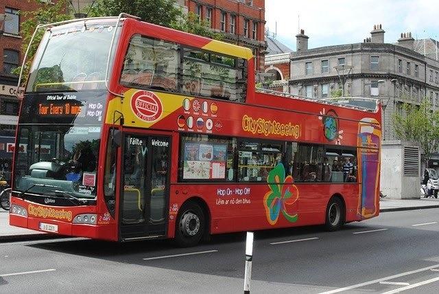 אוטובוס HIOP ON HOP OFF בלונדון