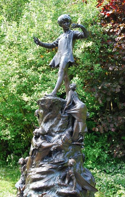 פסל פיטר פן